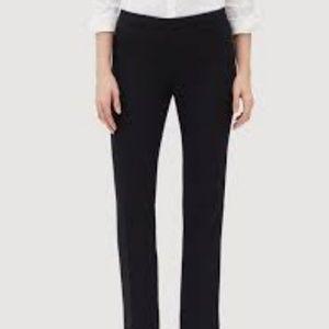LAFAYETTE 148 BARROW BLACK PANTS